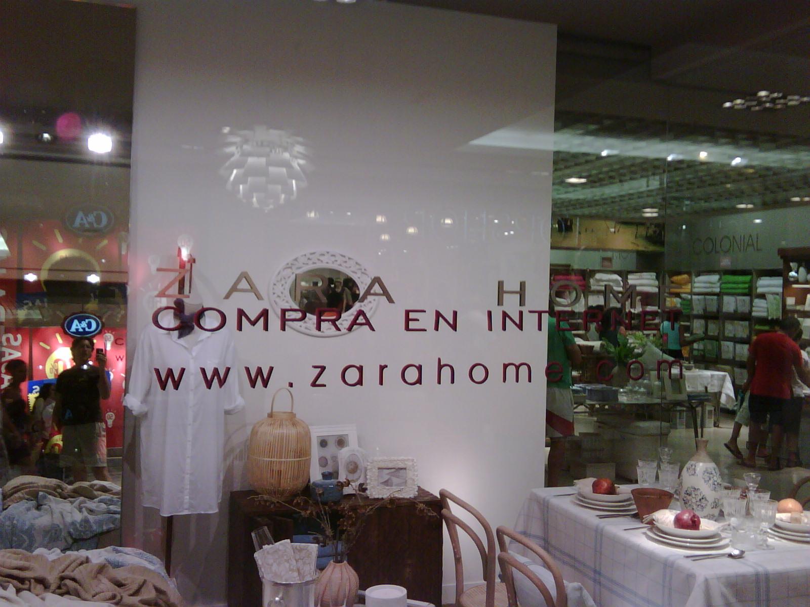 Marketing online separado de estrategias offline el - Zara home marbella ...